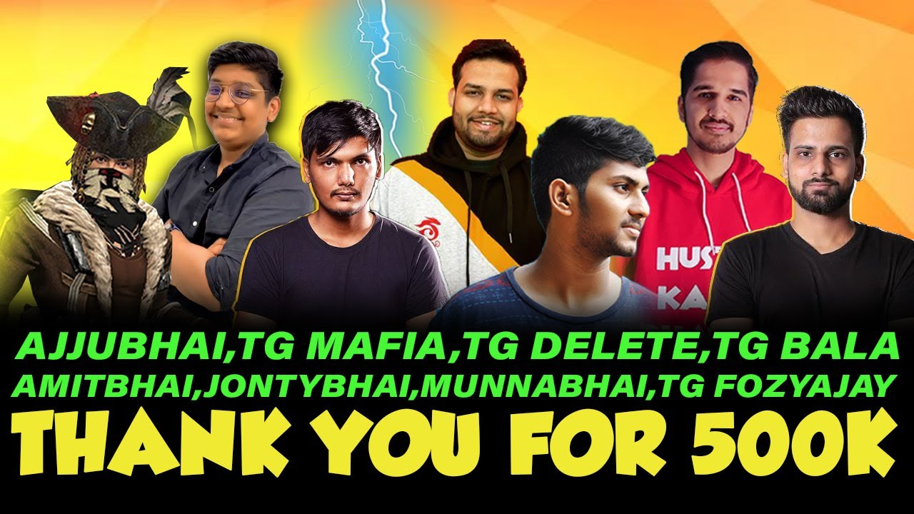 Ajjubhai, TG Bala Squad Vs Amitbhai, TG Fozyajay squad | Clash Squad | Free Fire Highlights