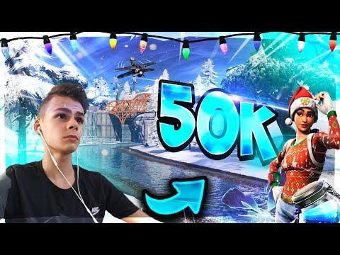 Danke für 50K!!!💪   1 Sieg = 1 Salto⚡️   Live: Fortnite 🔴