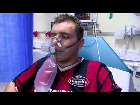 Ankle Dislocated Football Injury (Part 1) - Bizarre ER