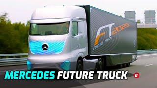Mercedes Future Truck 2025 Driving