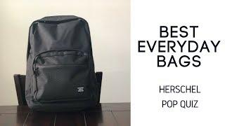 Best Daily Bags: Herschel Pop Quiz Backpack Review