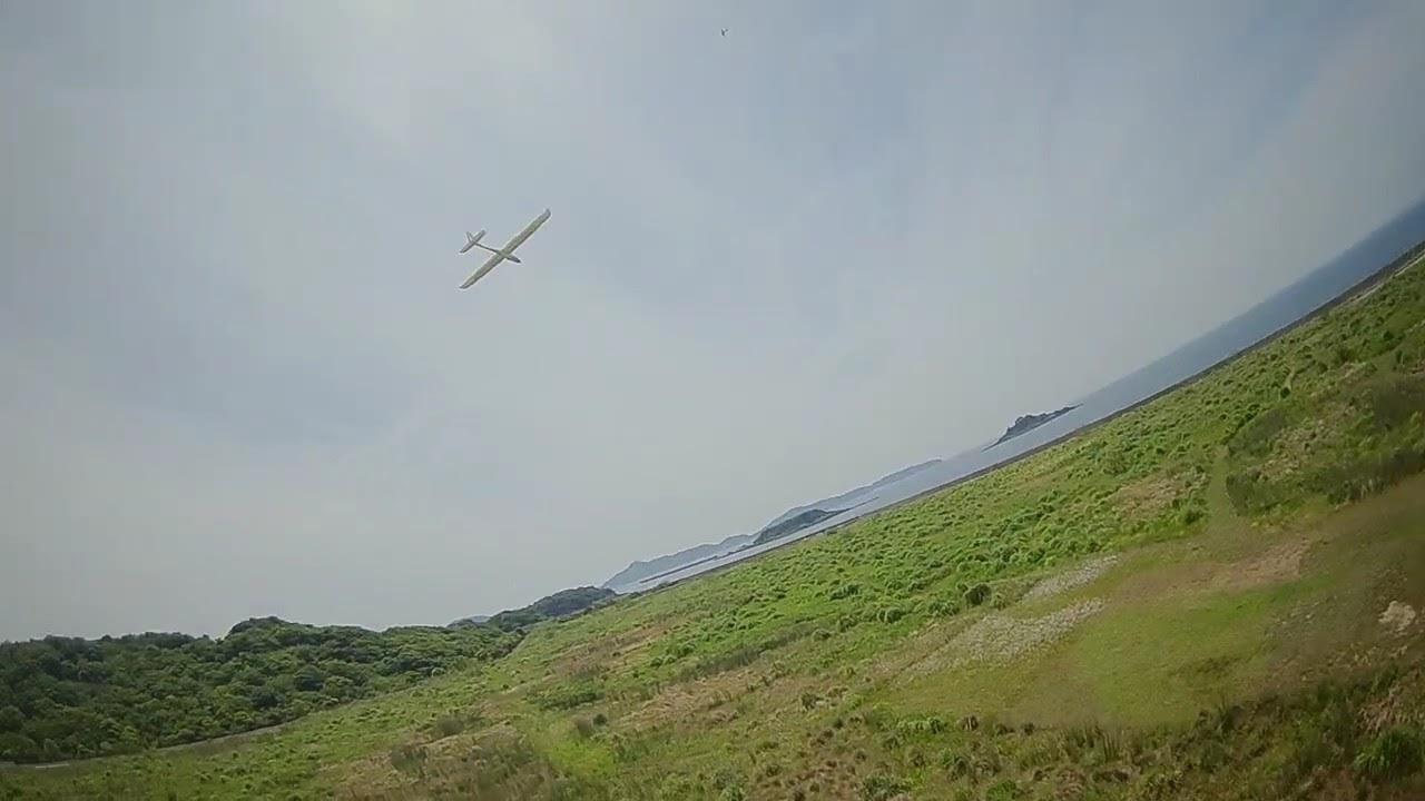 RCグライダーをFPVマイクロドローンで撮影! картинки