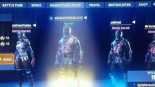 Fortnite stream Road to 100 abos