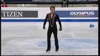 [HD] 2010 World Chmpionships - Brian Joubert SP