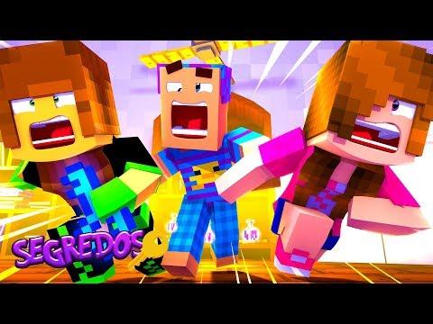 Minecraft: SEGREDOS #5 - FOI MUITO PERIGOSO ENCONTRAR ESSA PISTA! (CHAVE MISTERIOSA!)