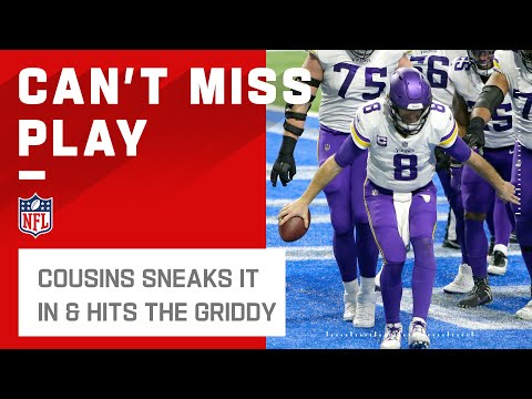 Kirk Cousins Attempting the Griddy Is Why We're Here