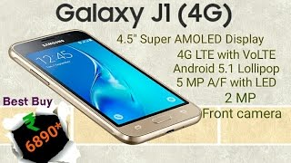 samsung galaxy j1 4g volte   features full specifications and price