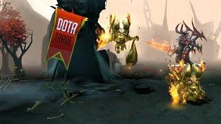 Golden Doomling immortal courier preview Dota 2