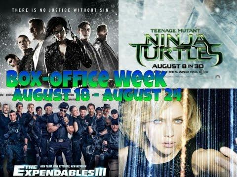 Box-Office  Week August 18 - August 24  2014 [HD]