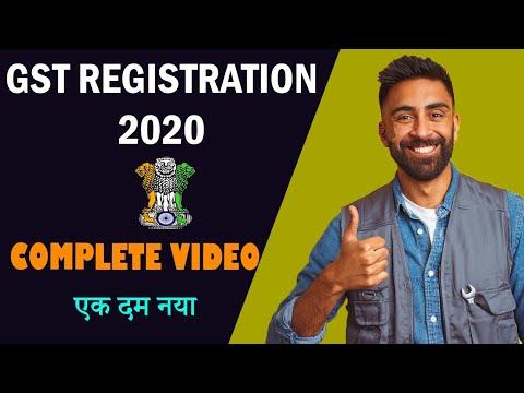 New GST Registration Process Online 2020   Legal Hindi   Gst Registration Kaise Kare