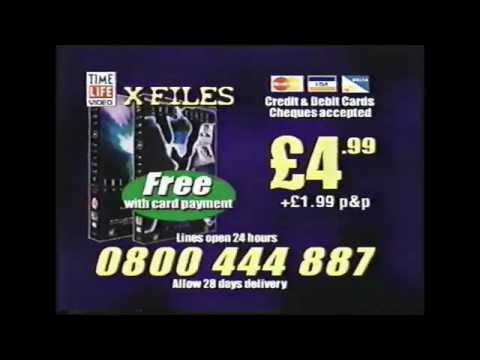 The X-Files Time Life Video Commercial (2000)