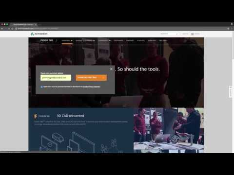 1 - Download and Install Fusion 360