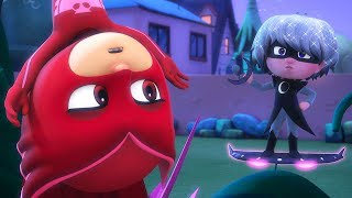 Owlette vs Luna Girl | PJ Masks Official