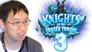 Knights of the Frozen Throne - Card Review #3 w/ Trump - Featuring New Dr. Boom?!