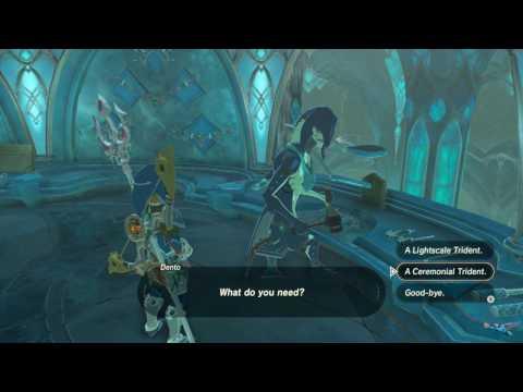 Zelda Breath Of The Wild Ceremonial Trident Location
