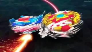 Shu vs Valt Beyblade Burst God episode 45