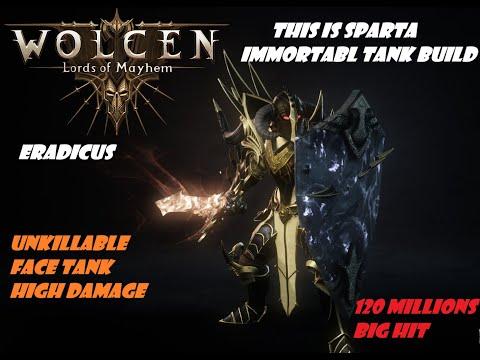 Wolcen INSANE Immortal Tank Build ULTIME | Unkillable/High Damage