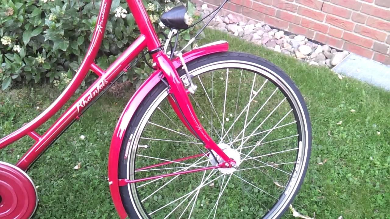 rheinfels hollandrad damen nostalgierad fahrrad 28 zoll. Black Bedroom Furniture Sets. Home Design Ideas