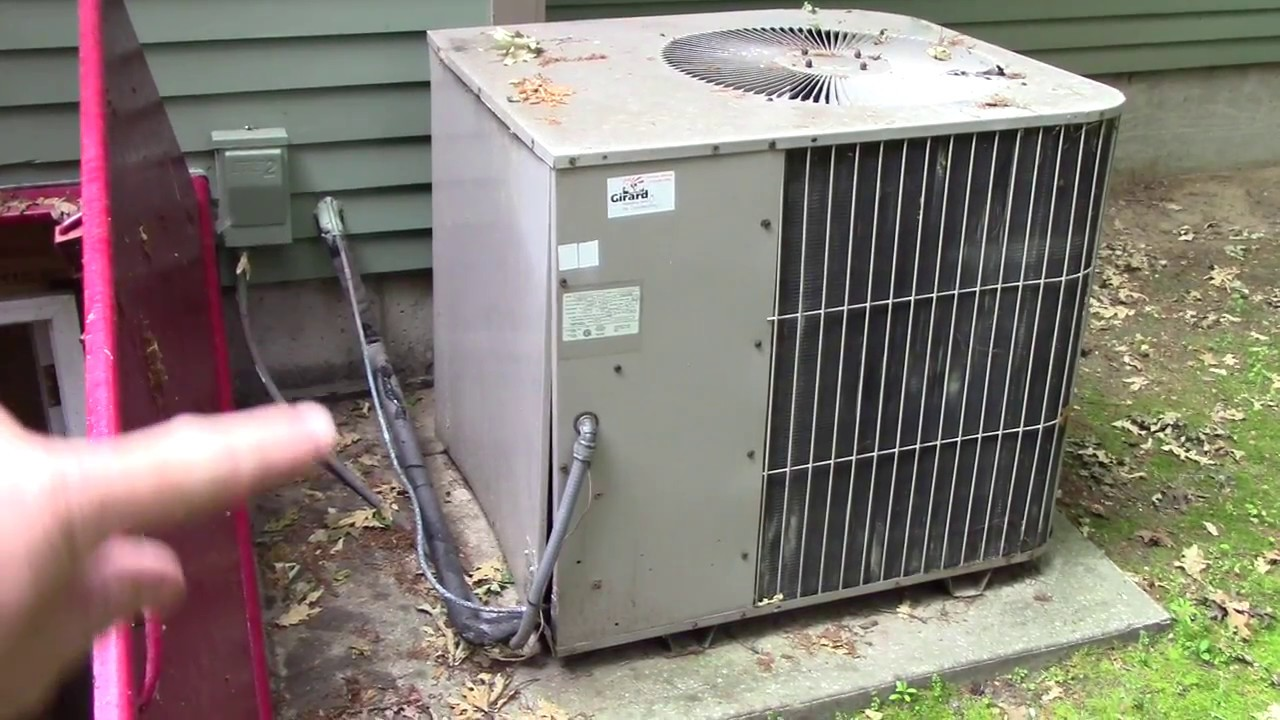 DIY Central air/ Furnace complete HVAC installation - YouTube