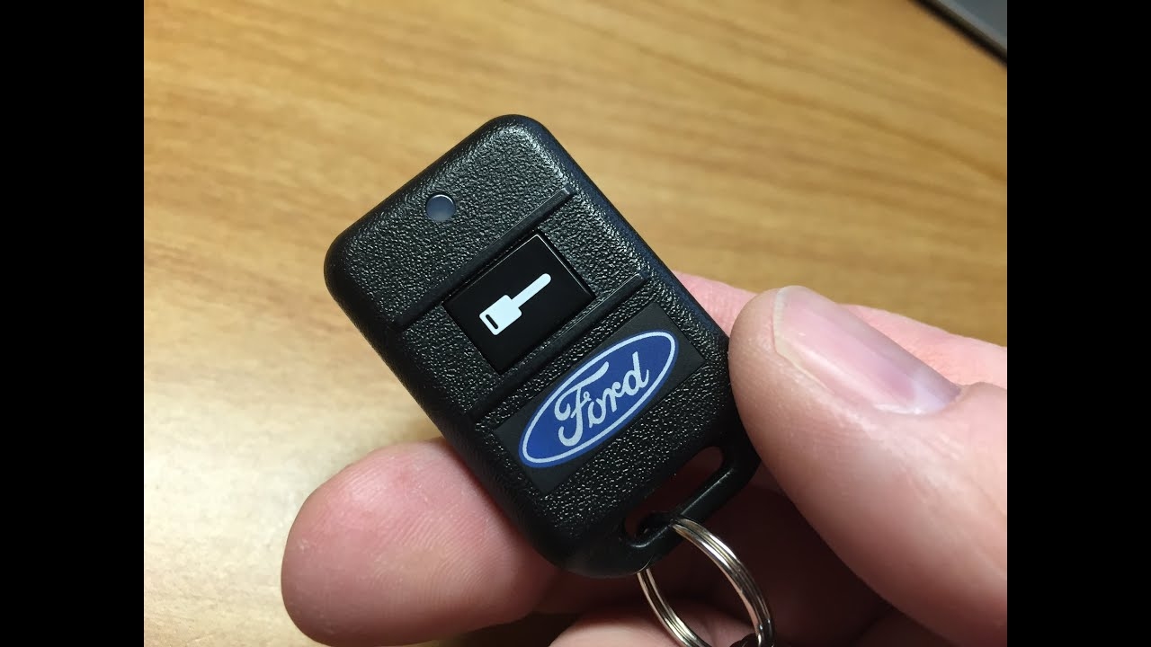 Ford Vehicles Programming Your Remote Start System Youtube