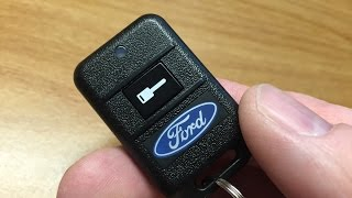 Ford Vehicles: Programming Your Remote Start System