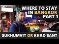 Best Area to Stay In Bangkok - Part 1 - Exploring The Malls and the Touristy Area of Sukhumvit