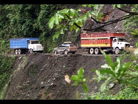 Ben Fogle and Hugh Dennis - Peruvian Andes - Worlds Most Dangerous Roads - BBC