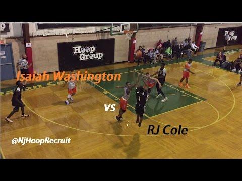 RJ Cole Vs. Isaiah Washington
