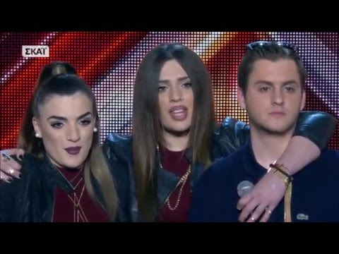 x factor greece 2016 four chair challenge groups full episode