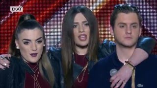 X FACTOR GREECE 2016 | FOUR CHAIR CHALLENGE | GROUPS | FULL EPISODE(Ο Θοδωρής Μαραντίνης