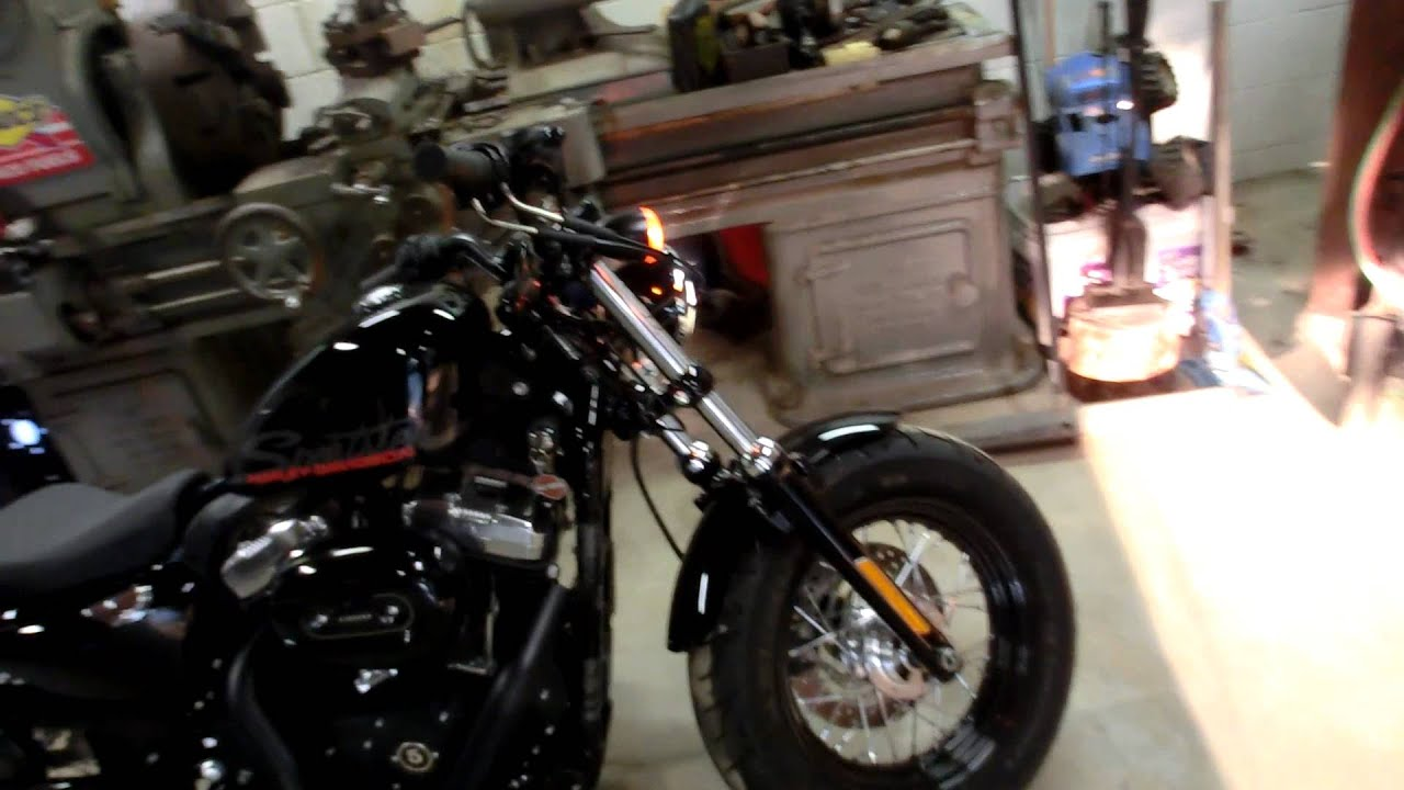 2011 Harley Forty Eight Vance Amp Hines Short Shots Youtube
