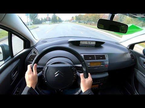 2011 Citroen C4 1.6 (120) POV TEST DRIVE