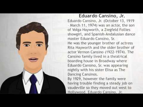 Eduardo Cansino, Jr - Wiki Videos