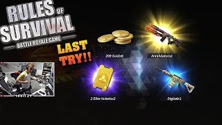 New Annihilator M4A1 Skin! *Crate Opening* (Rules of Survival #115)