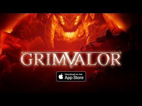 Grimvalor - Launch Trailer (iOS)