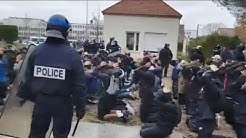 France : tollé après l'interpellation massive de lycéens à Mantes-la-Jolie