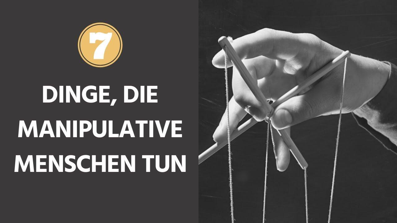 Download 7 Dinge, die manipulative Menschen tun
