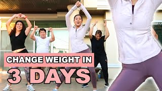 Intense Workout for 3 Days by Alex Gonzaga