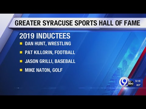 Justin The Web Guy - Greater Syracuse Sports Hall Of Fame Elects 7 New Inductees