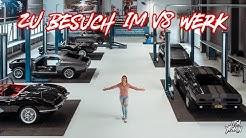 Zu Besuch im V8 Werk   Ford Mustang GT - Corvette C1   Lisa Yasmin