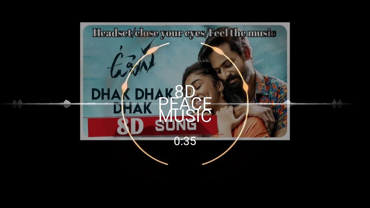 Download Dhak Dhak Dhak  Video Song | Uppena Movie | Panja VaishnavTej | Krithi Shetty |Vijay Sethupathi| DSP