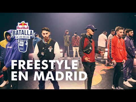 Freestyle en Madrid | Red Bull Internacional 2019