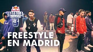 Freestyle en Madrid | Beat by MYKKA | Red Bull Internacional 2019