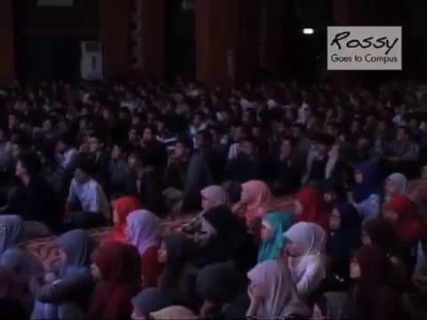 Rossy Goes to Campus UIN Syarif Hidayatullah Jakarta