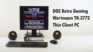 DOS Retro Gaming on the Wortmann Termtek TK-3772 Thin Client Mini PC PC