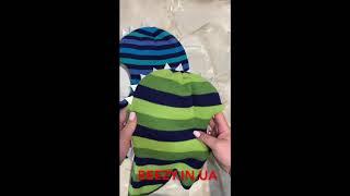 Детские зимние шапки-шлемы (мод. Дино) ТМ Beezy - Обзор.