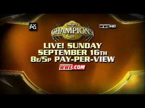 WWE Night Of Champions 2012 Promo Official (HD)