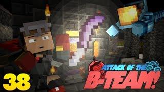 Minecraft: BEST MINECRAFT WEAPON!? Attack Of The B Team Minecraft Mod Survival (38)