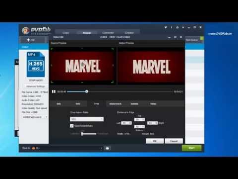 How to rip Blu ray to MP4 H265