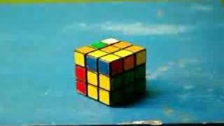 Stop Motion Rubik's Cube